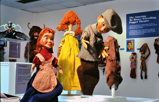 The Magic of Masks & Puppets