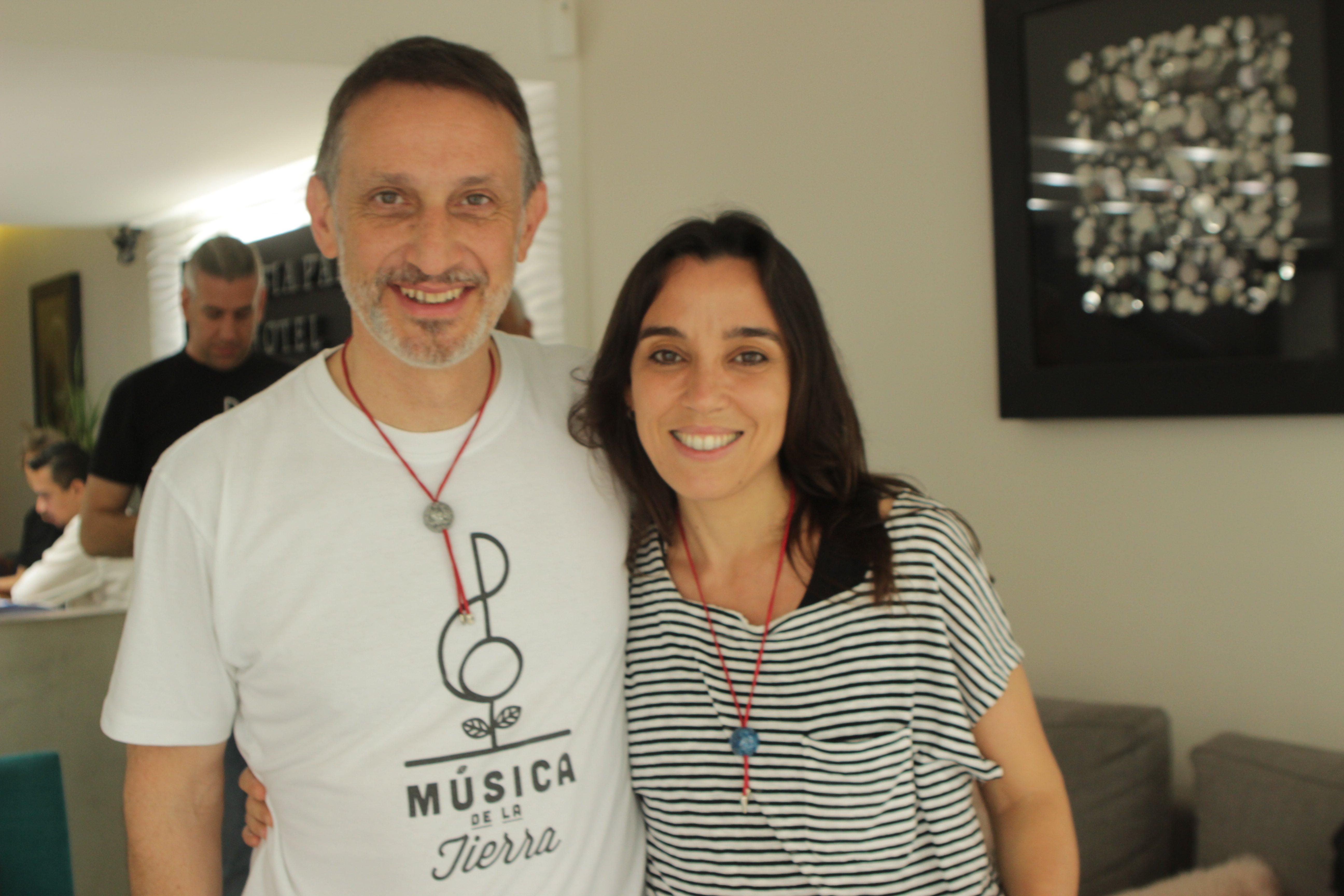 Diego Barnabé e Moriana Peyrou