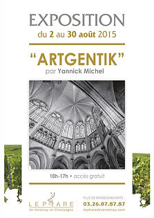 exposition Artgentik Yannick Michel