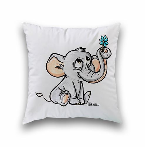 Elefant  - Kissenbezug