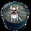 Thumbnail: Baby Fanzösiche Bulldogge  - Handyhalter