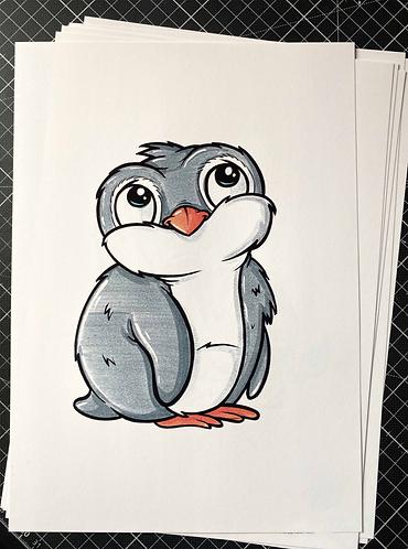 PINGUIN - Print - adrian.double.u