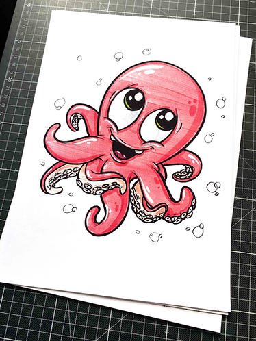 Oktopus - Print - adrian.double.u