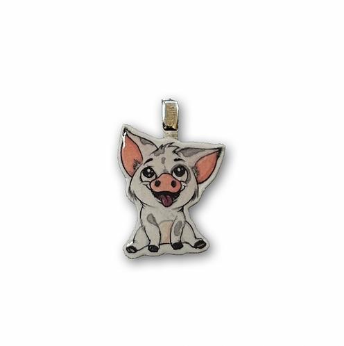 Schweinchen pua - Kettenanhänger