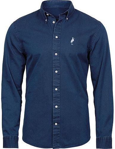 A DOUBLE U - Casual Twill Shirt