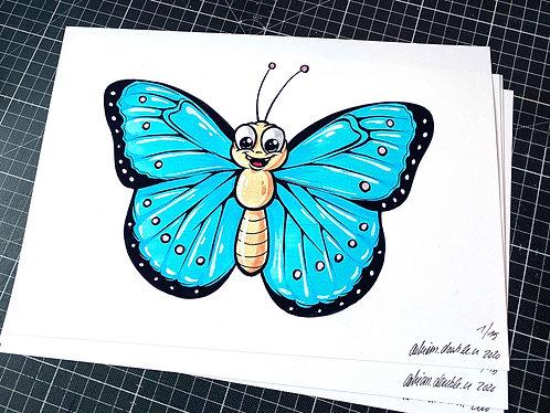 Schmetterling - Print - adrian.double.u