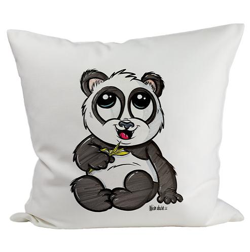 Panda - Kissenbezug (Flauschig)