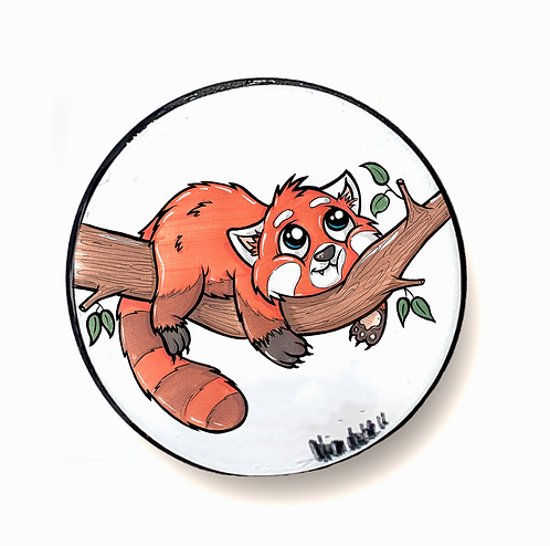 Roter Panda  - Handyhalter