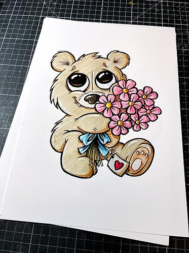 Teddy - Print - adrian.double.u