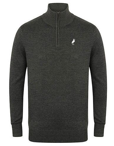 Männer Zip Pullover