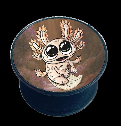 Kleines Axolotl - Handyhalter