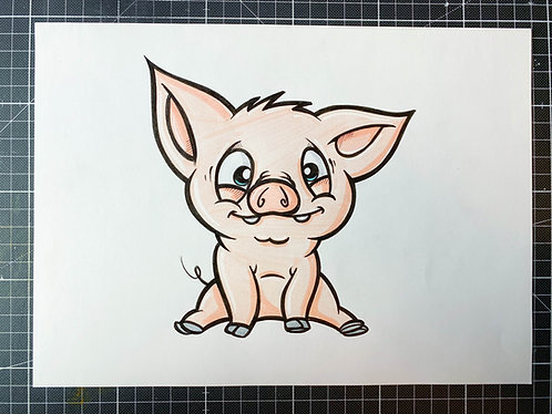 Schweinchen - adrian.double.u