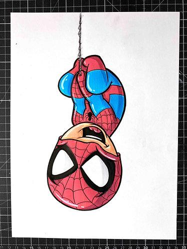 BABY SPIDER-MAN - Original Zeichnung - adrian.double.u