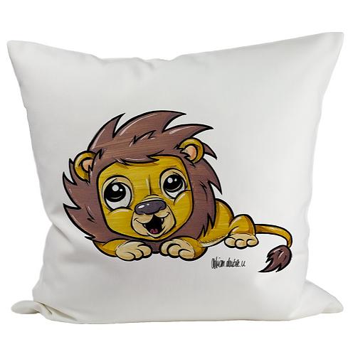 Löwe - Kissenbezug (Flauschig)