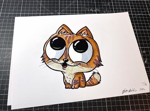 Baby Katze - Print - adrian.double.u
