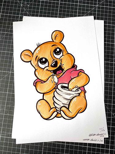 BABY WINNIE - Print - adrian.double.u