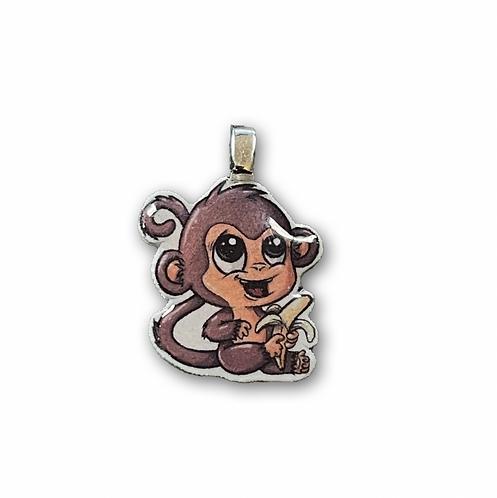 Affe - Kettenanhänger