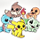 Thumbnail: STICKERPACK - POKEMON EDITION