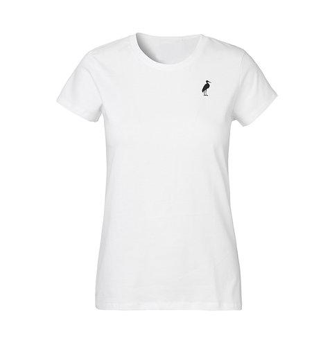 A DOUBLE U - Frauen Basic Classic T-shirt