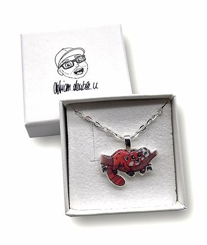 Roter Panda - Halskette