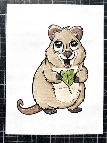Quokka - Original Zeichnung - adrian.double.u