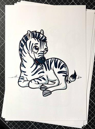 ZEBRA - Print - adrian.double.u