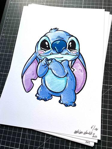 Stitch - Print - adrian.double.u
