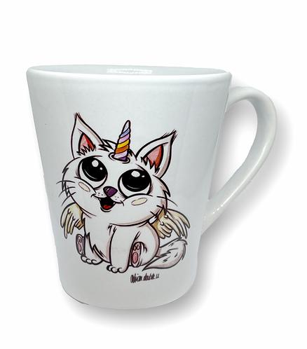 Einhorn Katze - Keramiktasse