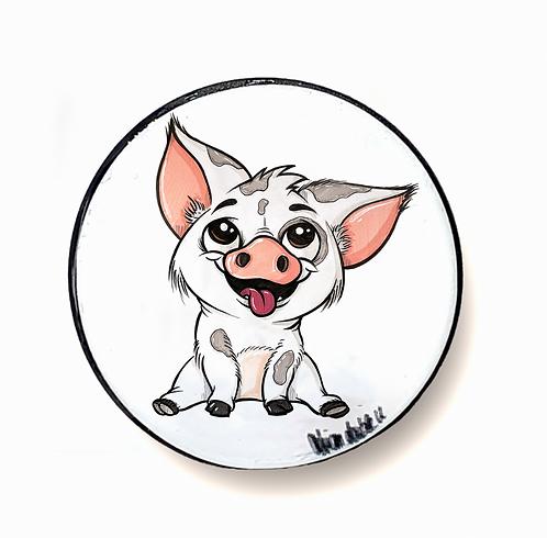 kleines Schweinchen  - Handyhalter