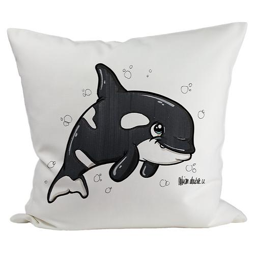 Orca - Kissenbezug (Flauschig)