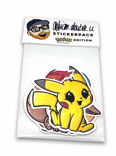STICKERPACK - POKEMON EDITION
