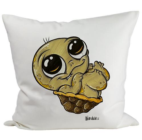 Baby Schildkröte - Kissenbezug (Flauschig)