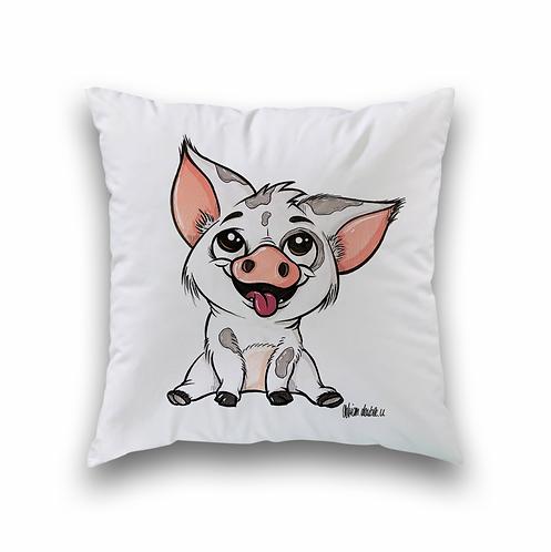 Kleines Schweinchen - Kissenbezug