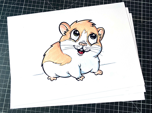 Hamster - Print - adrian.double.u