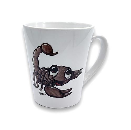 Skorpion - Keramiktasse