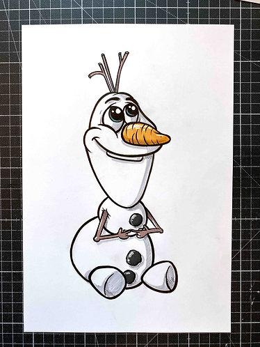 OLAF - Original Zeichnung - adrian.double.u