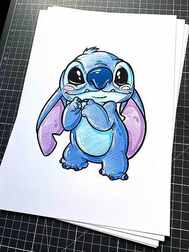 Stitch - 2.Auflage Print - adrian.double.u