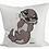 Thumbnail: Baby Otter - Kissenbezug (Flauschig)