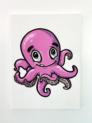 Kraken Canvas - a.double.u