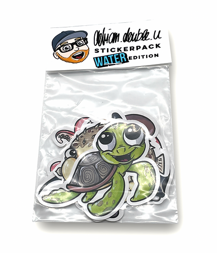 STICKERPACK - WATER  EDITION