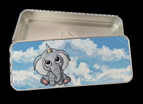Elefantenhorn - Stifte Metallbox