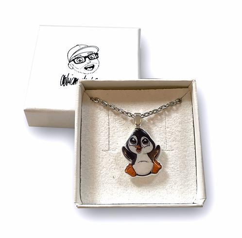 Pinguin - Halskette
