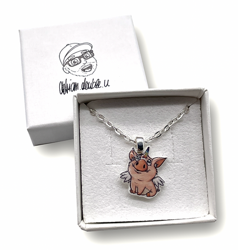 Schweinhorn - Halskette