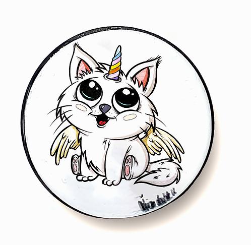 Einhorn Katze - Handyhalter