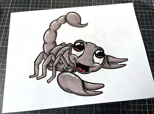 Skorpion - Original Zeichnung - adrian.double.u