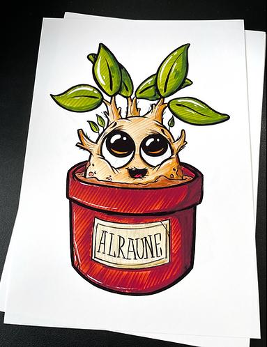 Baby Alraune  - Print - adrian.double.u