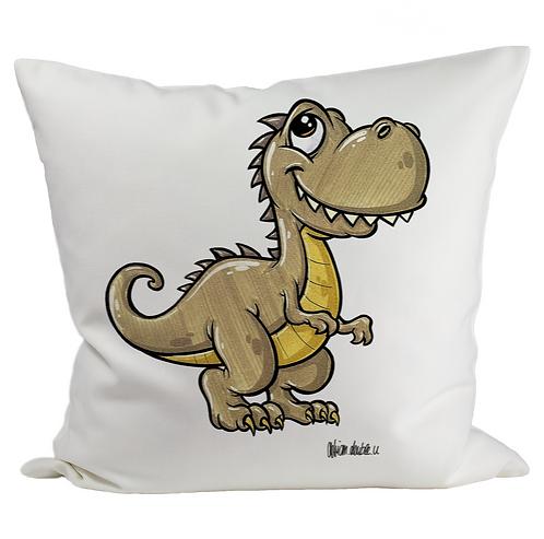 Dino - Kissenbezug (Flauschig)