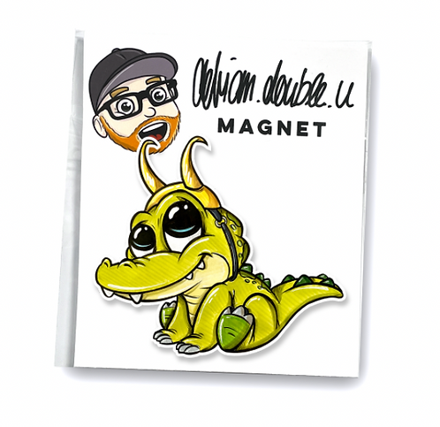 Baby Alligator Loki - MAGNET