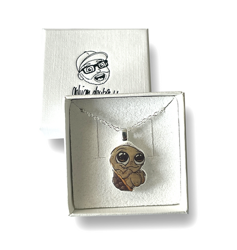Baby Schildkröte - Halskette