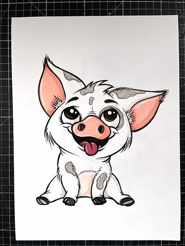 Pua - Original Zeichnung - adrian.double.u